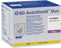 BD AUTOSHIELD Duo Sicherheits Pen Nadel 5 mm